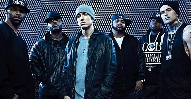 Eminem and Slaughterhouse