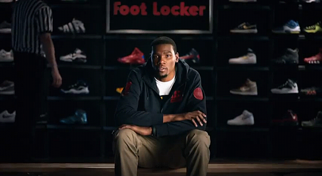 Kevin Durant Nike Footlocker Commercial
