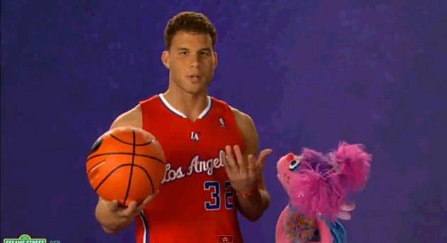 Blake Griffin on Sesame street