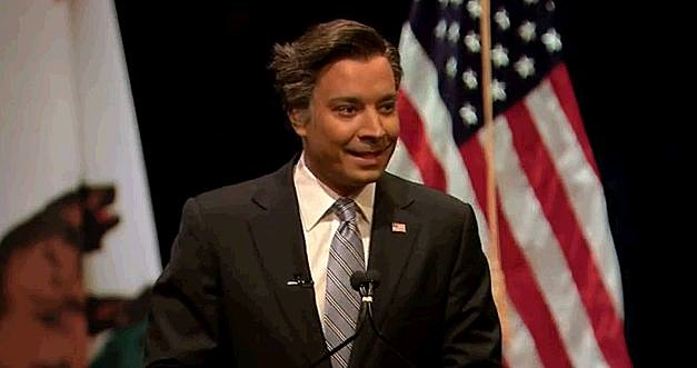 Jimmy Fallon Mitt Romney