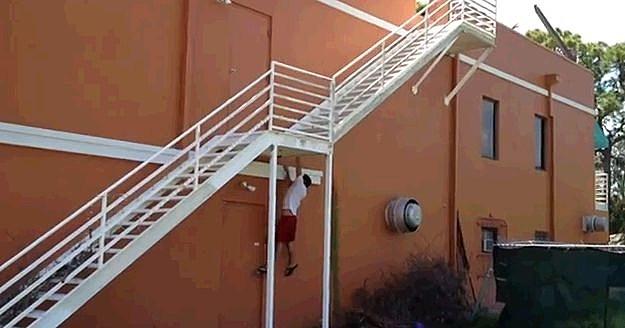 Ninja Stair Training
