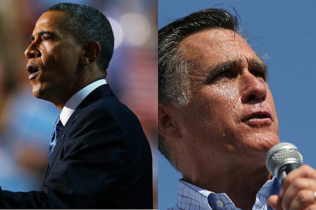 Obama vs. Romeny