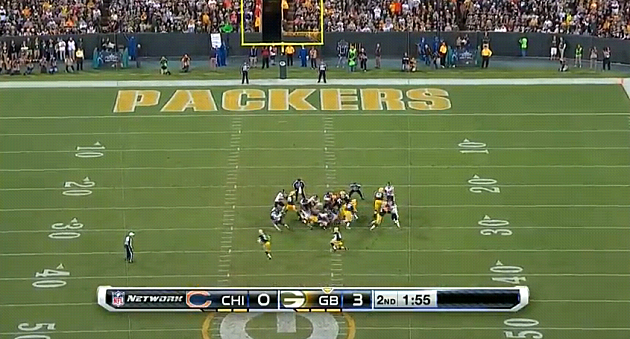 Packers Unbelievable Fake Field Goal TD