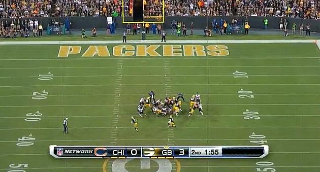 Packers Unbelievable Fake Field Goal TD