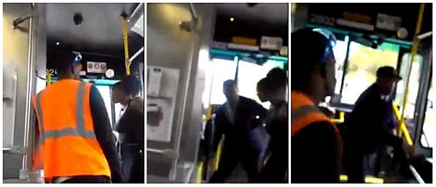 Bus Driver Uppercut