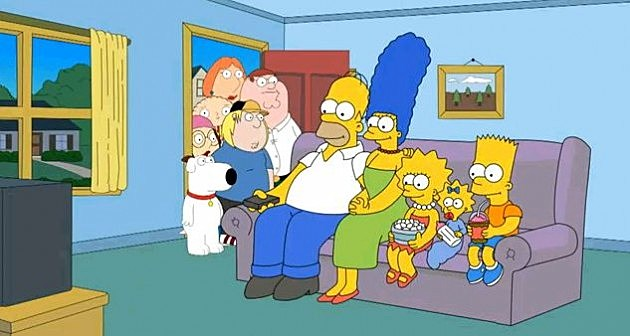 Family Guy Simpsons