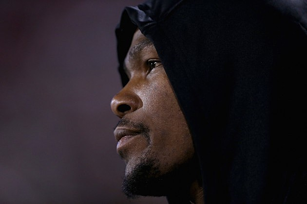 Kevin Durant Lonely At The Top