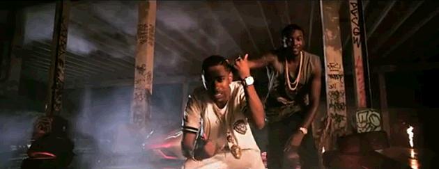 Meek Mill and Big Sean Video Burn