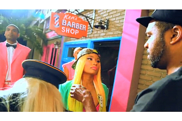 Nicki Minaj The Boys BTS