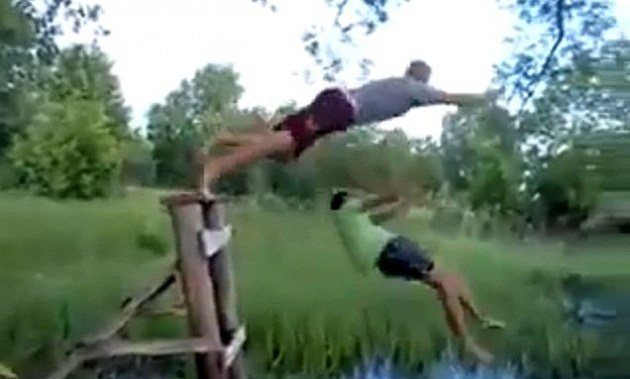 Rope Swing Drunks