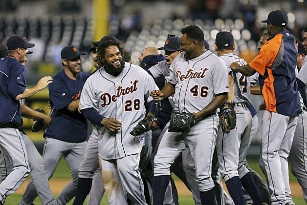 Detroit Tigers Clinch AL Central Championship