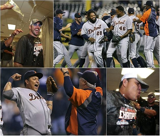 Tigers Win AL Championship