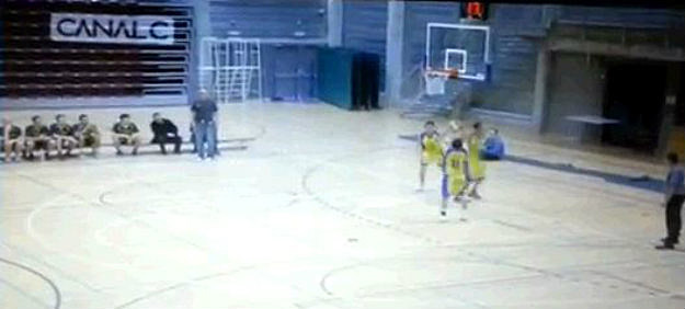 Basketball Player Misses 4 times