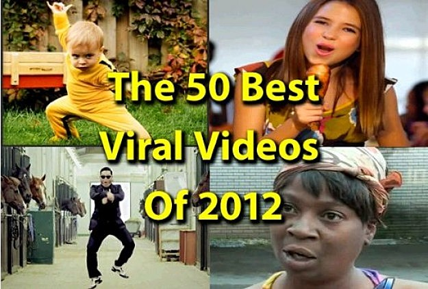 Top 50 Viral Videos of 2012