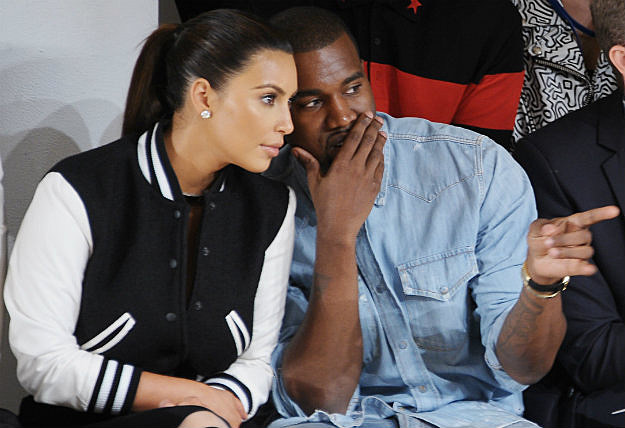 Kanye Kim Pregnant