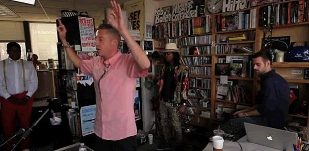 Macklemore NPR Tiny Desk Concert
