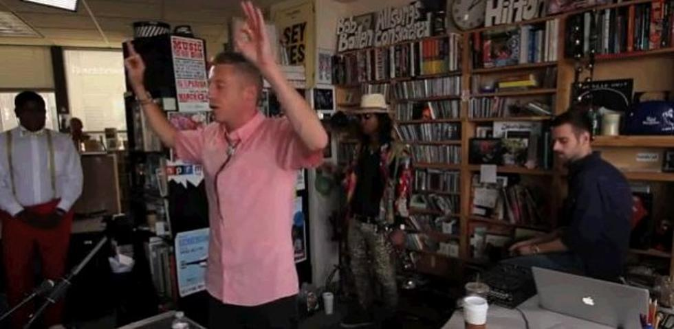 Macklemore And Ryan Lewis Drop An Important Musical Message For Npr Video