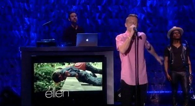 Macklemore on Ellen