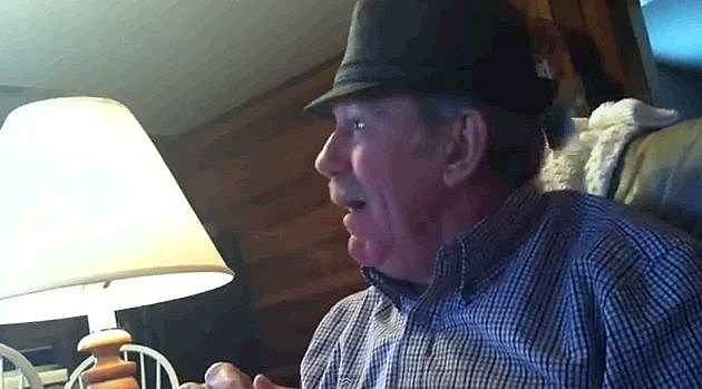 Bama Dad's Reaction is priceless when he gets a ticket to the game