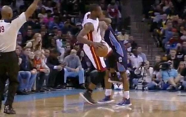 Wade Kicks Crotch