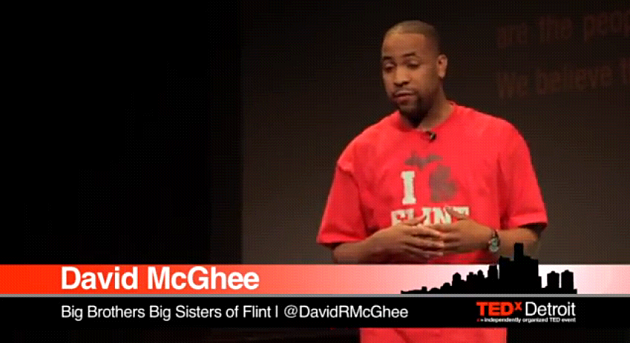 Flint's David McGhee deliver inspiring speech at TEDx Detroit 2012