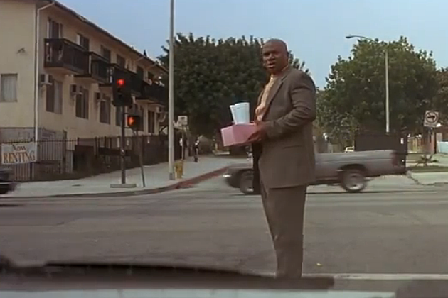 Pulp Fiction Crosswalk Scene