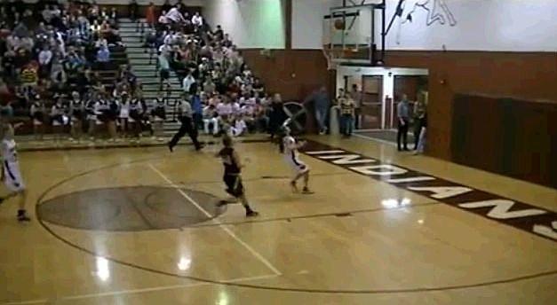 Full Court Girls Bounce Shot