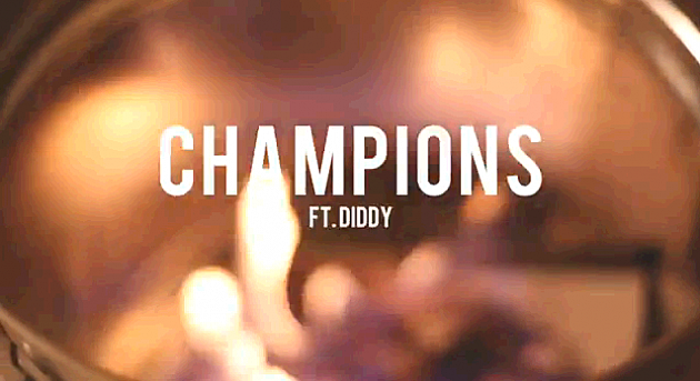 MGK Airs Out His Beefs on 'Champions' Featuring P. Diddy