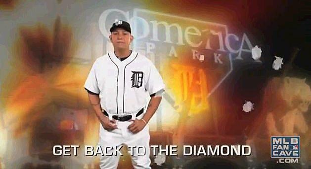 Miguel Cabrera Get Back To The Diamond