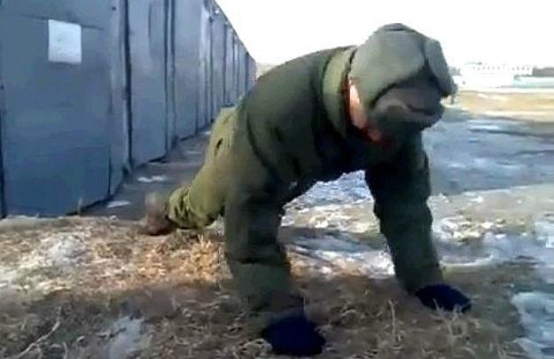 Russian No Hands Pushups