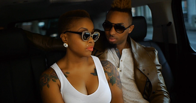 chrisette michele shows off her new tattoos in �a couple