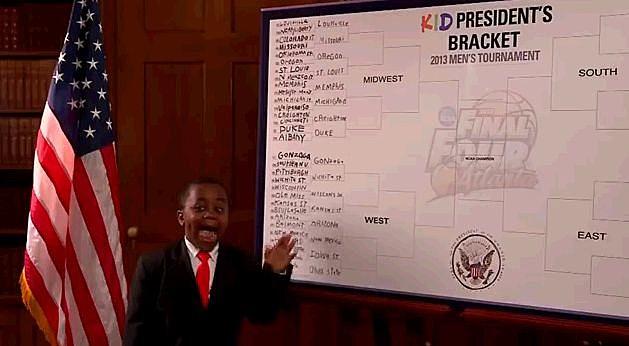 Kid President Fills Out His Bracket For ESPN