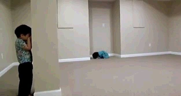 Kids Are Bad At Hide And Seek