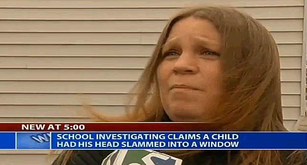 Boy Gets Head Slammed Thru School Bus Window