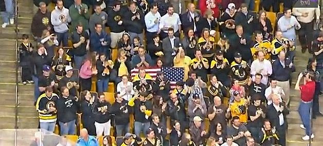 Bruins National Anthem Boston Strong