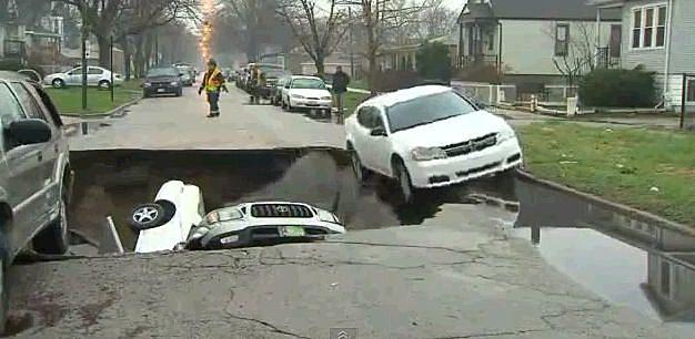 Chicago Sink Hole
