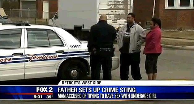 Detroit Dad Catches A Predator