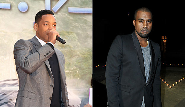 Kanye West Pushing Will Smith To Rap