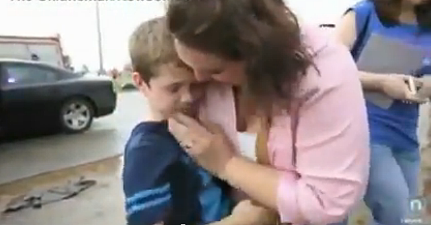 Oklahoma Mom Reunited With 8 Year Old Son