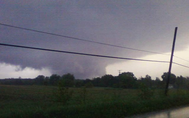 Tornado Over Genesee County