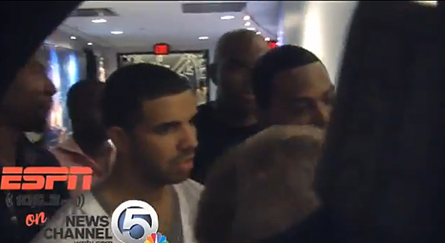 Drake Denied Access To Heat Locker Room