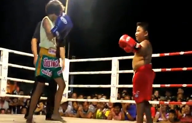 Muay Thai Kids Fight