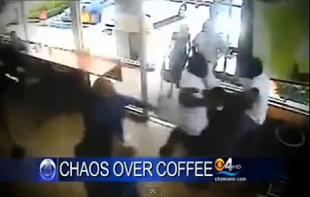 Coffee Shop Fight