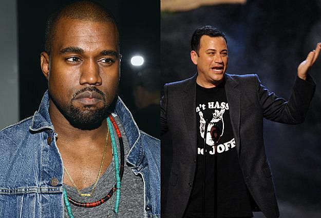 Kanye V Kimmel
