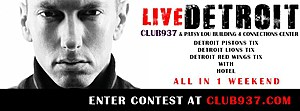 Click Here To Enter To Win Club 93.7's LIVE DETROIT w/ Eminem Contest