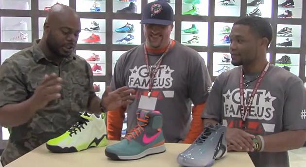 LV Talks Sneaker Colorways at Villa in Flint