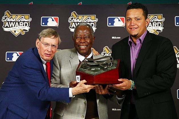 Miggy Wins Hank Aaron Award