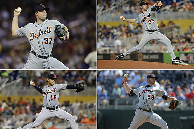 Tigers Pitchers