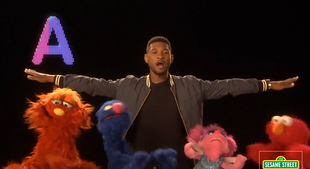 Usher Delivers New ABC's Song to Sesame Street