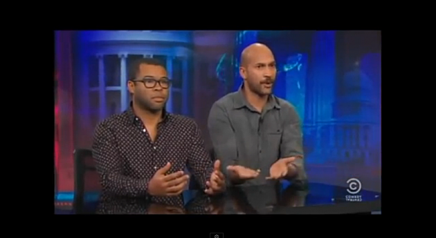 Key and Peele Stop By Jon Stewart's 'The Daily Show' for Racist or Not Racist Segment